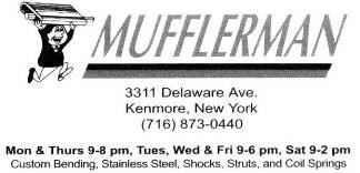 Mufflerman business card